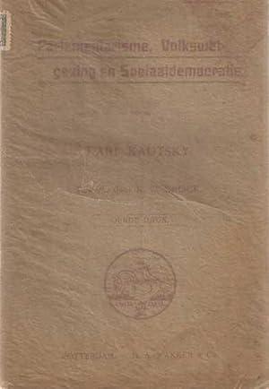 Parlementarisme, Volkswetgeving en Sociaaldemocratie. Bewerkt door K.C. Brock.: Kautsky, Karl