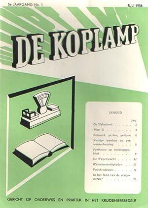 De koplamp.Gericht op onderwijs en practijk in het kruideniersbedrijf. 4e jaargang, nrs. 3, 4, 5 &...