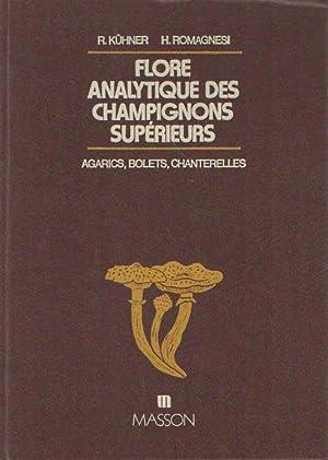 Flore analytique des champignons supérieurs. (Agarics, Bolets,: Kühner, R. &