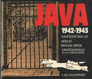 Java 1942-1945. Kampschetsen uit: Kesilir, Banjoe Biroe,: Warmer, Joh. A.G.