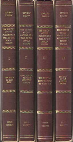 The History of the Decline and Fall of the Roman Empire, Vols. 1-4