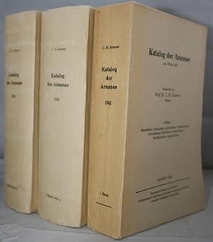 Katalog der Araneae von 1758 bis 1940: Roewer, C.F.