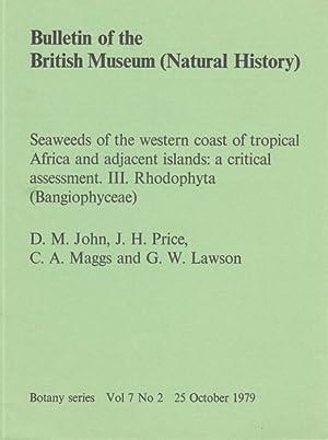 Seaweeds of the Western Coast of Tropical: John,D.M.; Price,J.H.; Maggs,