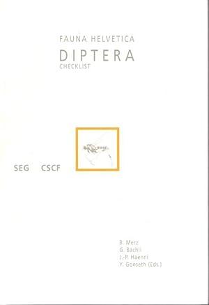 Diptera: Checklist Fauna Helvetica 1: Merz, B.; Bächli,