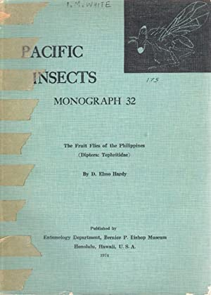 The Fruit Flies of the Philippines (Tephritidae-Diptera): Hardy, D.E.