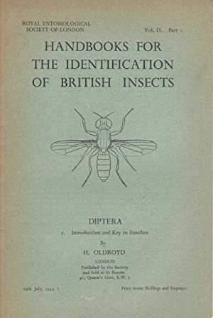 Diptera: Introduction and Key to Families (Handbooks: Oldroyd, H.