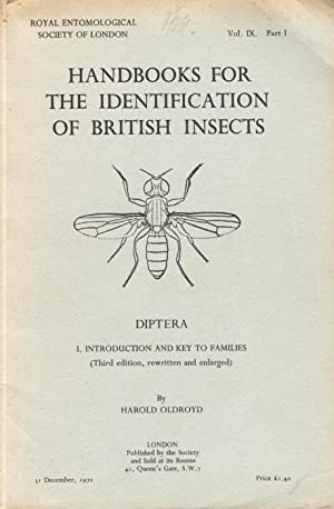 Diptera: I. Introduction and Key to Families: Oldroyd, H.