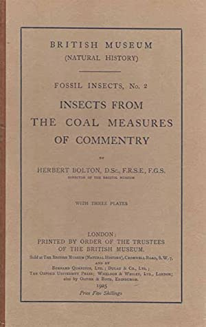 Insects from the Coal Measures of Commentry: Bolton, H.