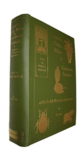 Insects, Ticks, Mites and Venomous Animals of: Patton, W.S.; Evans,