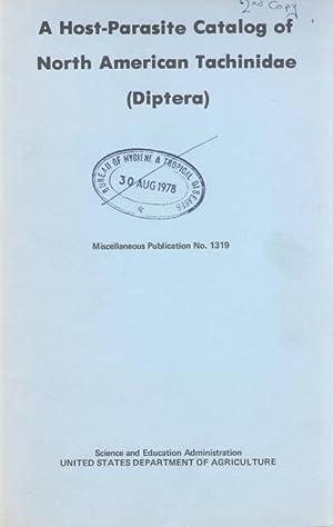 A Host-Parasite Catalog of North American Tachinidae: Arnaud, P.H.