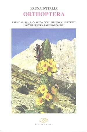 Orthoptera (Fauna d'Italia 48): Massa, B.; Fontana,