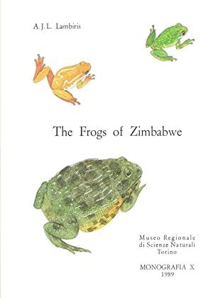 The Frogs of Zimbabwe: Lambiris, A.J.L.