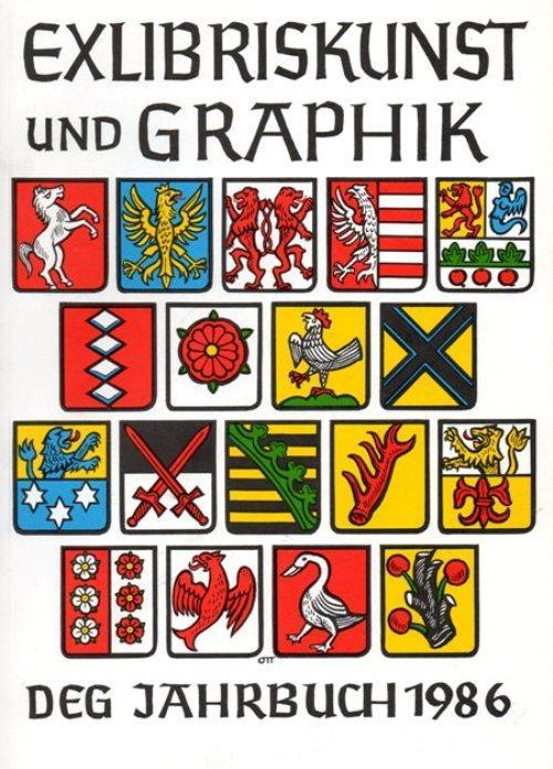 Anna Grmelová 30 Exlibris/Grafik Konvolut