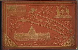 Album of Melbourne. Leporello mit 16 photolithographierten