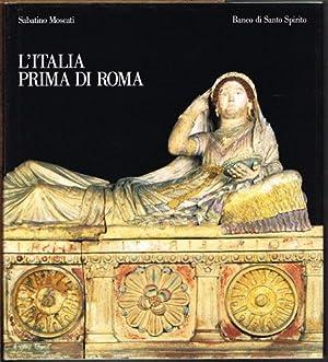 L'Italia prima di Roma.: Sabatino Moscati:
