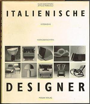 Italienische Designer. Interviews. Werkübersichten.: Silvia Giacomoni /