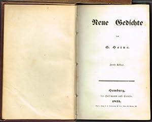 Neue Gedichte.: Heinrich Heine: