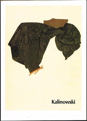 Horst Egon Kalinowski. Papiers collés 1979-1983. Mit