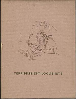 Terribilis est locus iste. Eine bibliophile Anekdote.