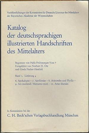 Katalog der deutschsprachigen illustrierten Handschriften des Mittelalters. Band 1, Lieferung 4. 6....