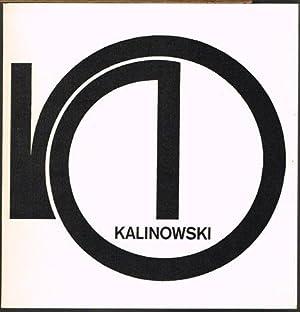 Horst Egon Kalinowski. Objekte 1975-80.