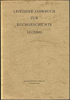 Leipziger Jahrbuch zur Buchgeschichte 10 (2000).