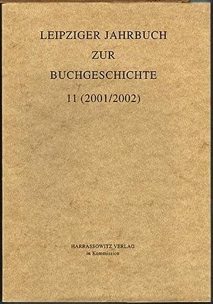 Leipziger Jahrbuch zur Buchgeschichte 11 (2001/2002).