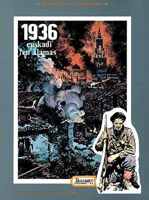 1936. Euskadi en llamas: Dibujo y Guión: Antonio Hernández Palacios