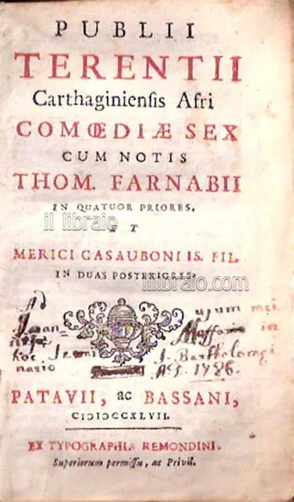 Andria terenzio testo latino dating