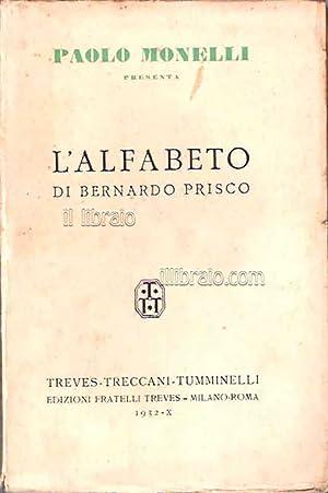L'alfabeto di Bernardo Prisco: MONELLI P.