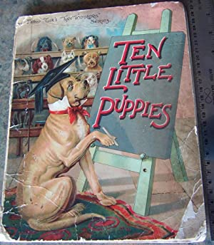 Ten Little Puppies (Father Tuck's Tiny Toddlers Series)