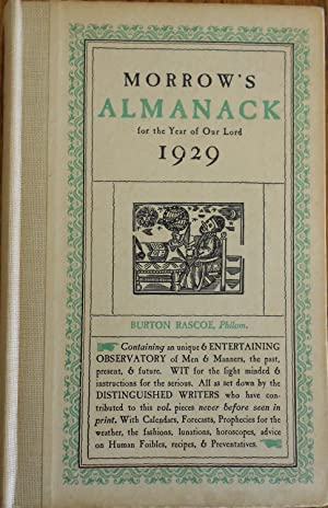 Morrow's Almanack for the year of our Lord 1929