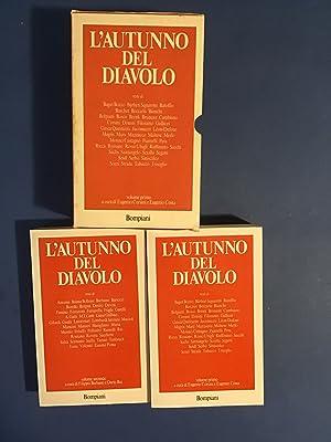 L'AUTUNNO DEL DIAVOLO: EUGENIO CORSINI, EUGENIO COSTA, FILIPPO BARBANO, DARIO REI