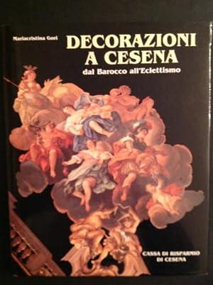 DECORAZIONI A CESENA DAL BAROCCO ALL'ECLETTISMO: MARIACRISTINA GORI