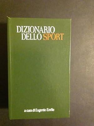 DIZIONARIO DELLO SPORT: EUGENIO ENRILE
