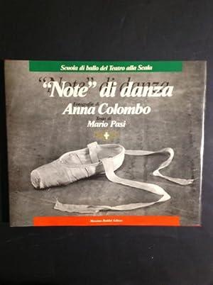 """NOTE"""" DI DANZA SCUOLA DI BALLO DEL: ANNA COLOMBO, MARIO"""