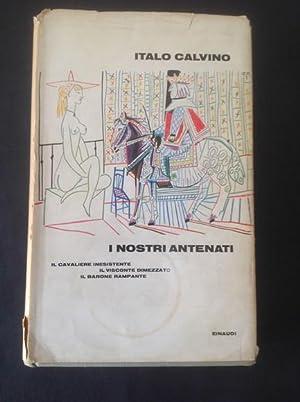 I NOSTRI ANTENATI IL CAVALIERE INESISTENTE, IL: ITALO CALVINO