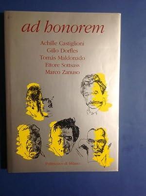 AD HONOREM ACHILLE CASTIGLIONI, GILLO DORFLES, TOMAS: AAVV