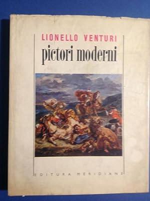 PICTORI MODERNI GOYA, CONSTABLE, DAVID, INGRES, DELACROIX,: LIONELLO VENTURI