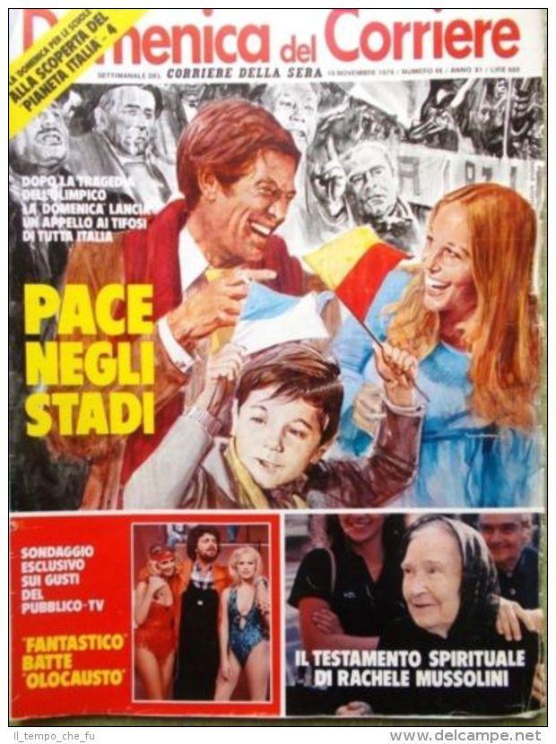 Style Corriere Della Sera Calendario Uscite.La Domenica Del Corriere 14 Novembre 1979