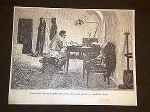 Leone Tolstoi nella stanza da lavoro Quadro