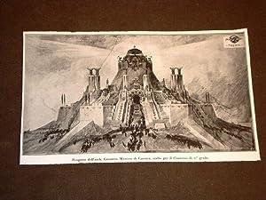 Roma nel 1920 Concorso per il Monumento