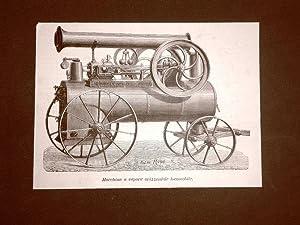 Treni e ferrovie nel 1877 Macchina a