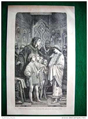 1882 - Frate Giudo Monaco d'Arezzo davanti