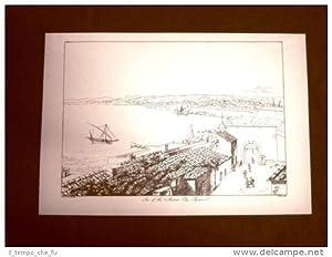 Antica città di Siracusa Sicilia Ristampa Goldicutt