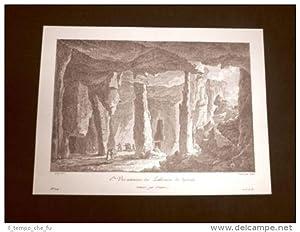 Antica veduta interna della Latomia di Siracusa
