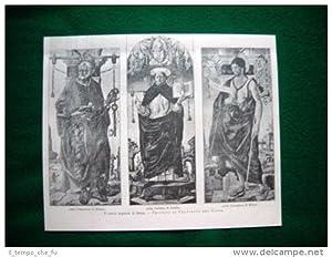 Brera nel 1893 - Trittico di Francesco