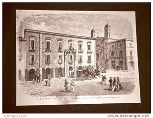 Catania nel 1876 La casa del Maestro