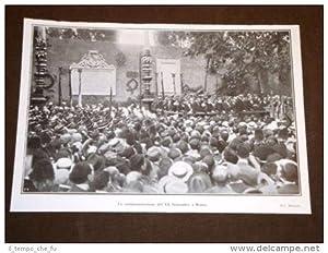 Commemorazione del XX settembre a Roma nel