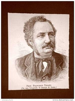 Francesco Todaro nel 1889 Senatore Tripi 14